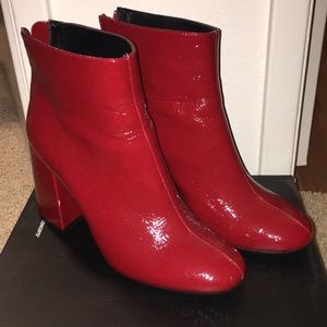 Forever 21 Red boots Size 7.5